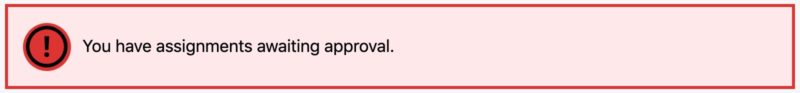 Example of LearnDash warning alert
