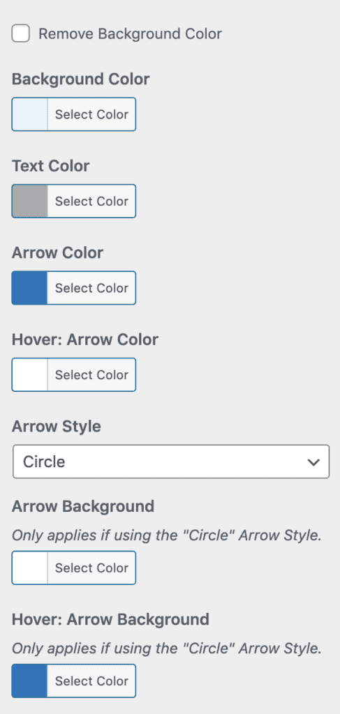 Design Upgrade Pro pagination options in the Customizer